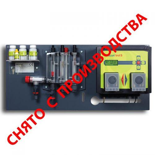 Автоматическая станция химии descon®trol S – Свободный хлор/Redox/pH/t