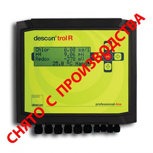 Контроллер descon®trol R - Свободный хлор/Rx/pH/t