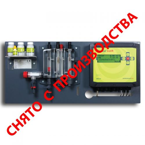 Станция химии descon®trol R - Свободный хлор/ Rx / pH / t без насосов