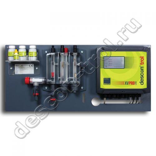 Автоматическая станция химии descon®trol XV PRO - Свободный хлор / Rx / pH / t без насосов