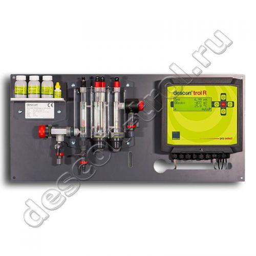 Автоматическая станция химии descon®trol R pro-select - свободный хлор / Rx / pH / t (без насосов)