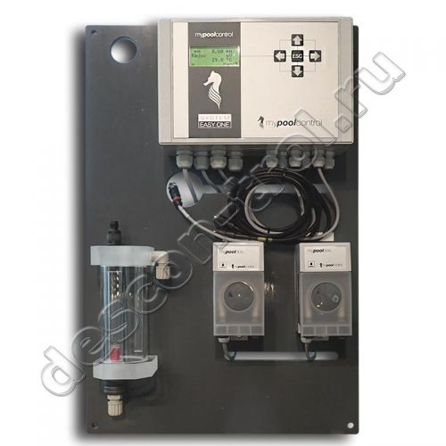 Станция химии для бассейнов MyPoolControl EASY ONE complete Rx / pH / t