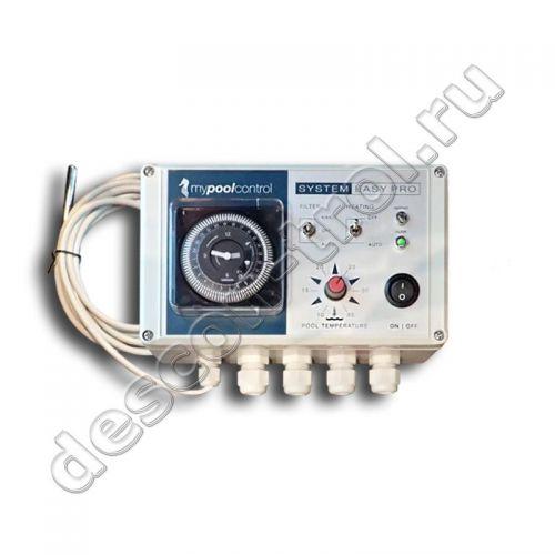 Блок управления фильтрацией и подогревом MyPoolControl EASY PRO