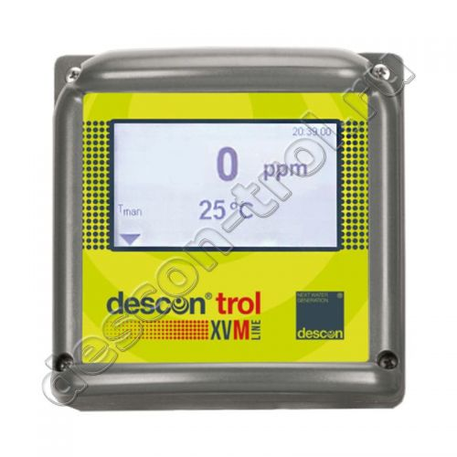 Одноканальный измерительный прибор (контроллер) descon® trol XVM - Gas