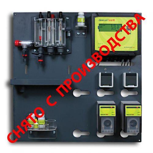 Станция химии descon®trol R - Свободный хлор/ Rx / pH / t с насосами dos sm