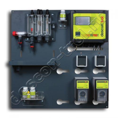 Автоматическая станция химии descon®trol XVSM PRO (sm) - Свободный хлор / Rx / pH / t
