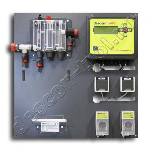 Автоматическая станция химии descon®trol R pro-select (ECO) - Свободный хлор / pH / t (без д.у.)