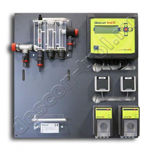 Автоматическая станция химии descon®trol R pro-select (sm) - Свободный хлор / Rx / pH / t