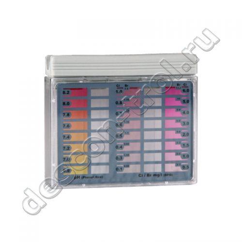Пултестер для бассейнов Хлор / pH