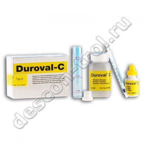 Тестовый комплект Duroval C Descon карбонатная жесткость