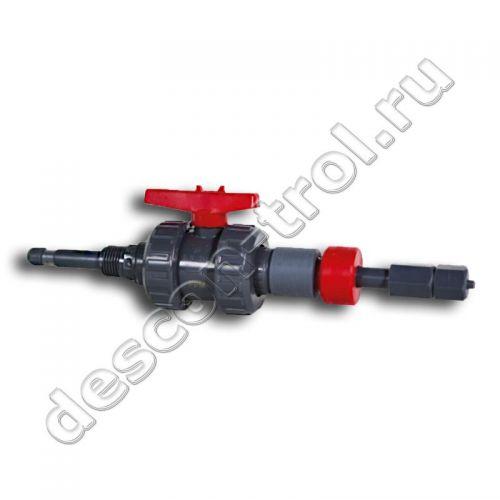 Дозирующий клапан впрыска 80 PVC 6/4 для бассейнов