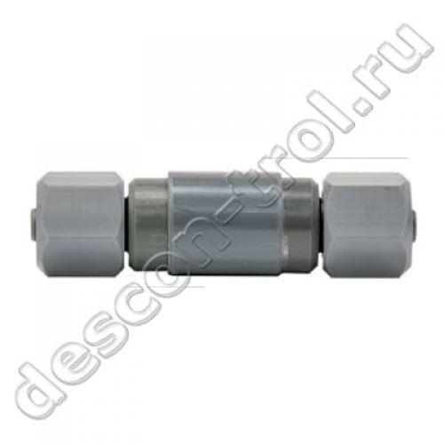 Соединитель трубок измерительной воды 2 x DN6 8/6 мм