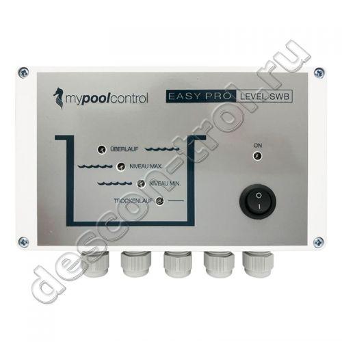 Электронный регулятор уровня воды EASY PRO LEVEL SWB для переливных бассейнов (17230)