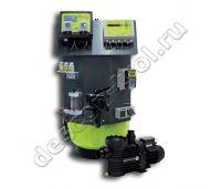 Установка descon® WATERCARE ECO - фильтр Premium 610, бесхлорная обработка / pH / t, ручной вентиль (51204XV)